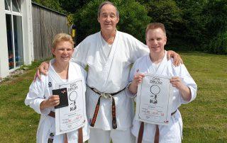karate harburg dan pruefung