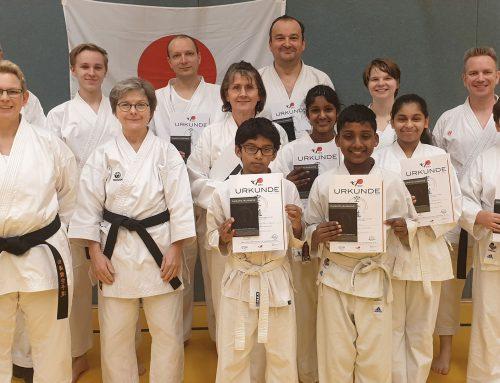 Karate Gürtelprüfung Shotokan