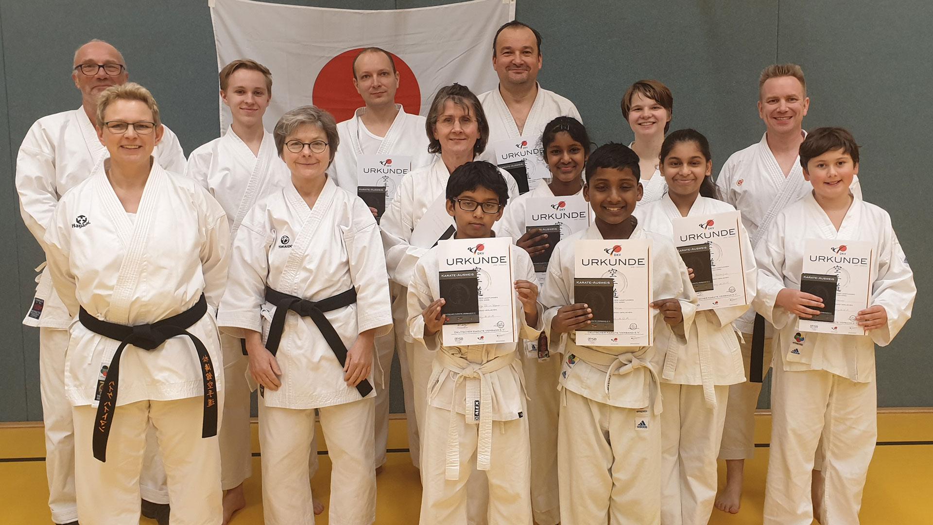 Karate Prüfung Harburg