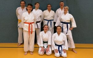 ueber 40 karate gruppe shotokan