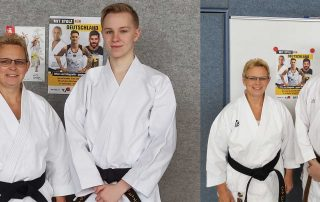 Karate hamburger format 2020 Trainer Heike Michi Ralf
