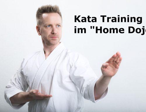 """Karate Training im """"Home Dojo"""" Montag Woche 1"""