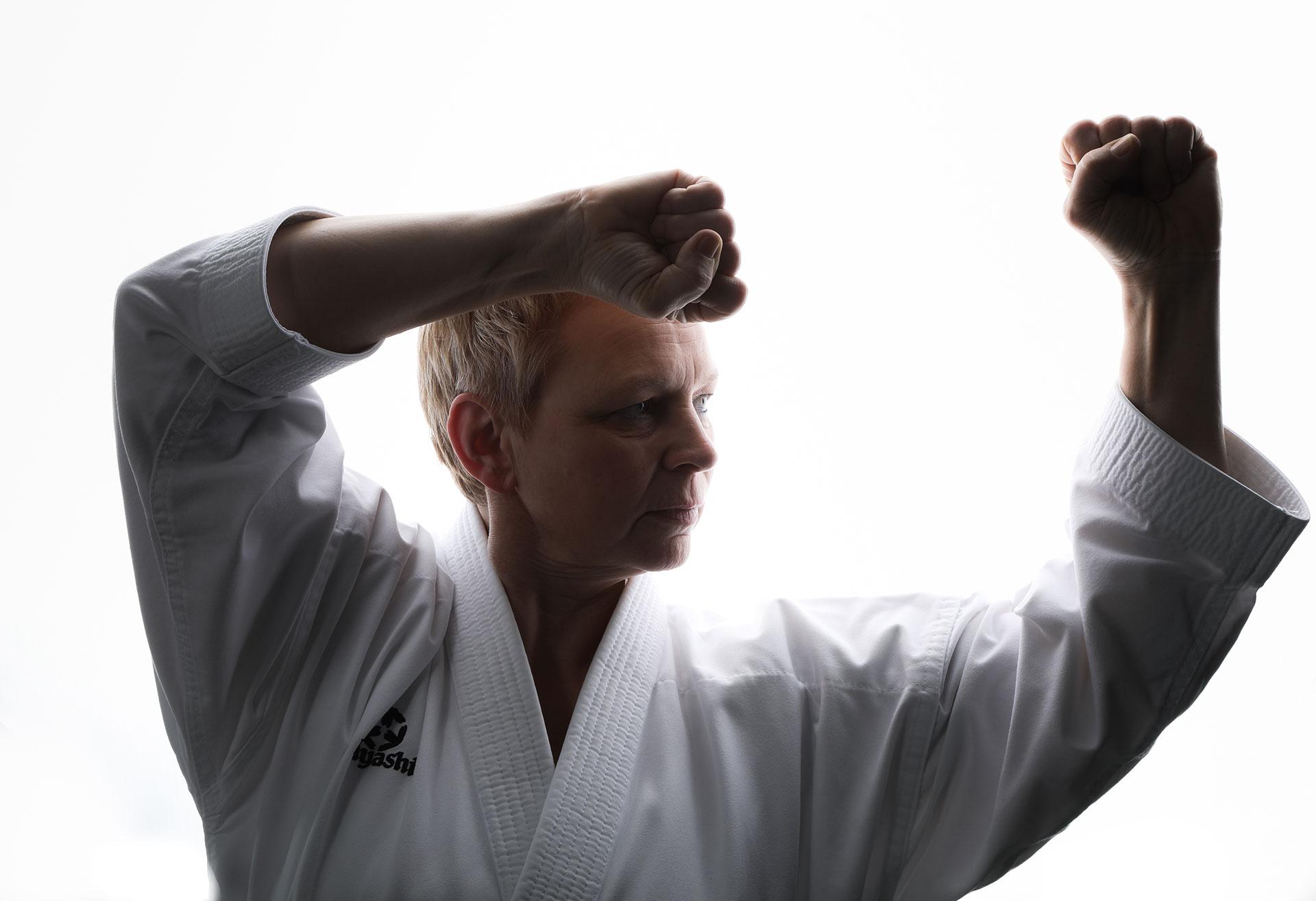 Karate Trainerin heike heitmann